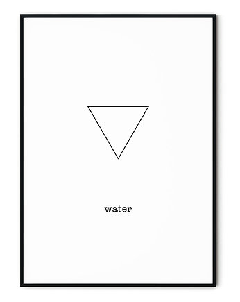 Mystic vibes, Plakat Home on Earth - Water