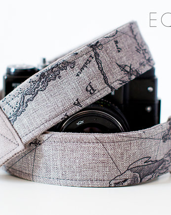 aparat fotograficzny, Pasek do aparatu Camera Strap Journey Grey