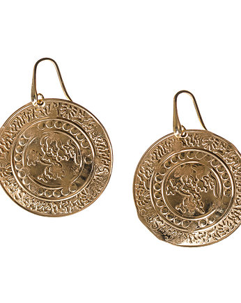 Patty Rose Jewellery, kolczyki BOHEMIAN STAMPED OUT