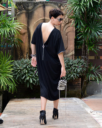 momo fashion, NOWE TUNIKA TZ BLACK Oversize