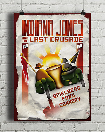 kino, Indiana Jones And The Last Crusade - plakat