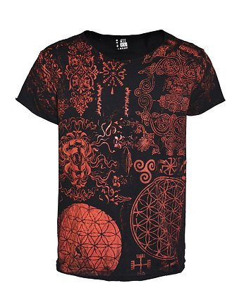 red shamanicpunk tee