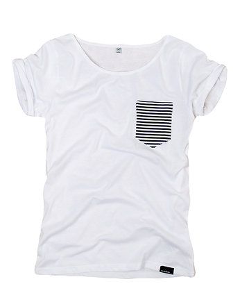 mmhm, stripes - organic t-shirt