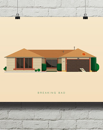 kino, Breaking Bad - plakat