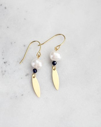 lebohobleu, Piia Pearl Earrings