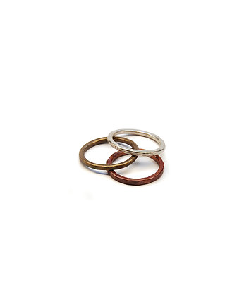 Filimoniuk, BITY THREE / set of three rings