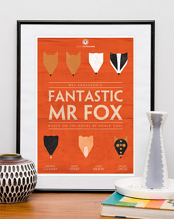 kino, Fantastic Mr. Fox - plakat
