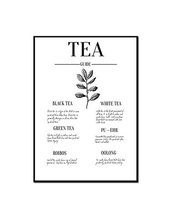 Plakat TEA GUIDE