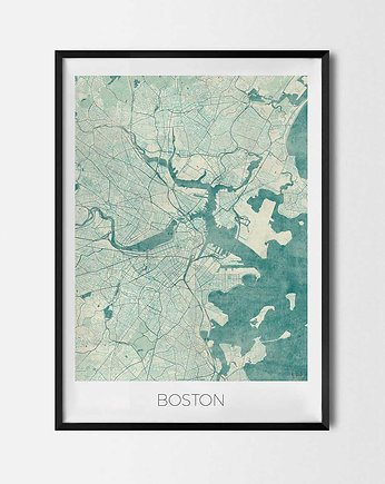 Plakat Boston - CityArtPosters