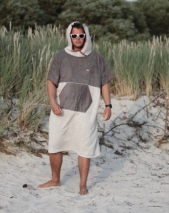 Surf Poncho – Red Scotch