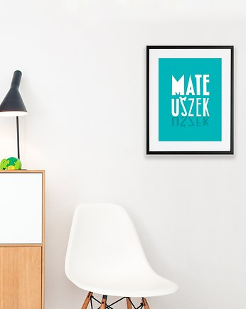 decoration, #mateuszek #1 PLAKAT A4
