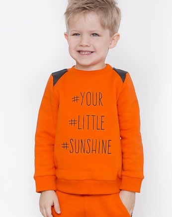 Orange is new black, BLUZA YOUR LITTLE SUNSHINE pomarańczowa