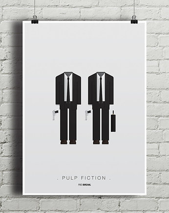 kino, Pulp Fiction - plakat A1