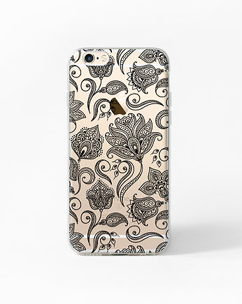 etui iphone 6, Etui iPhone 6 6s Case Obudowa Henna Boho Paisley