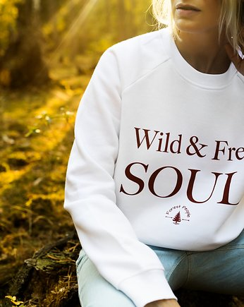 Forest People, Bluza unisex WILD & FREE SOUL