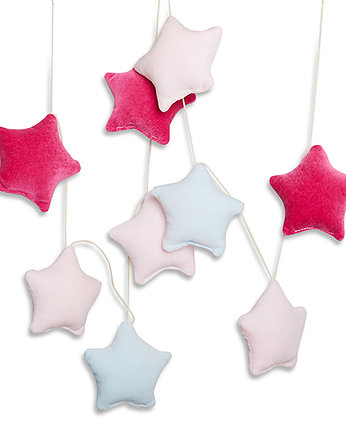 Girlanda –  Velvet Purple Stars