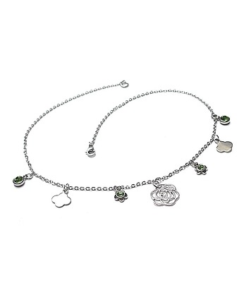 KiKa pracownia, Alloys Collection - choker  Line /pistacje/