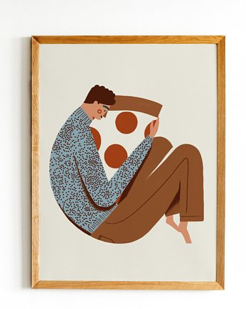 plakat Pizza lover