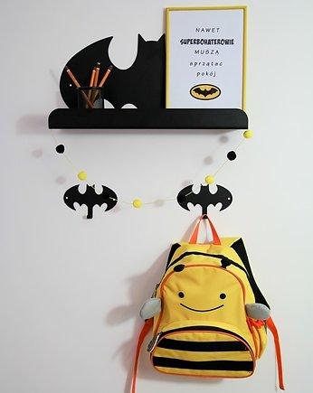 Półka Batman Do Pokoju Superbohatera Pokój Dziecka Meble Pakamera Pl