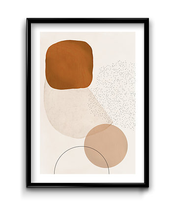 Bury Lis, Abstract Beige #2 - plakat