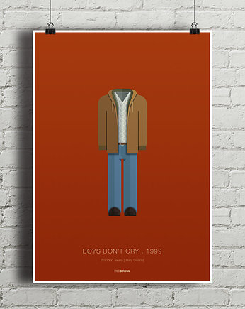 minimalmill, Boys Don't Cry - plakat