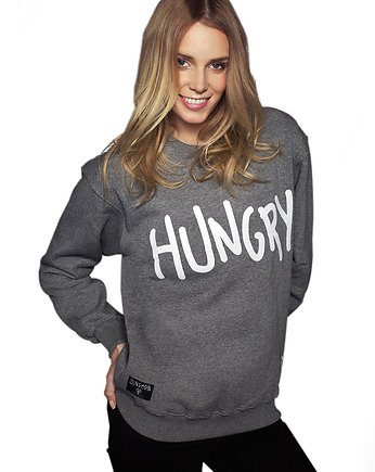 Hungry Crewneck dark grey