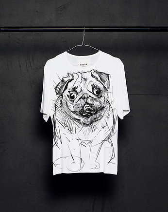 Pug-Dog t-shirt woman