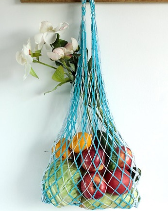 Vintage wyplatańce, Macrame bag, Reusable String bag