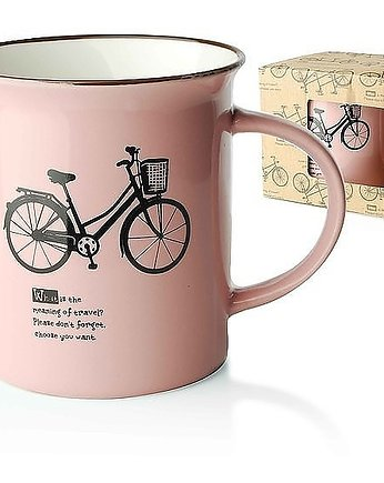 MIA home passion, Kubek Ceramiczny Bicycle Pink