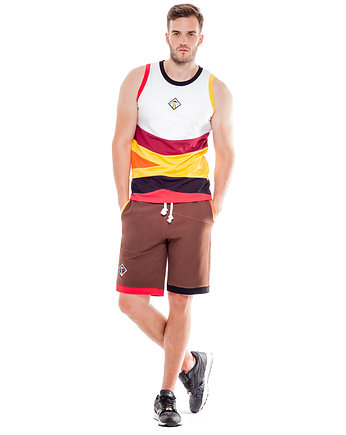 streewear, Serpens Shorts (Brown)