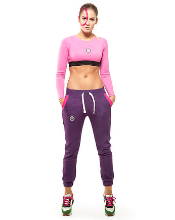 Do the yoga, Andromeda Jogger Jeans Pants (violet)