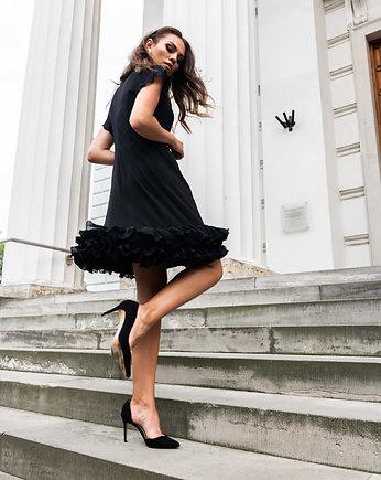 Sahira spódnica w hiszpańskim stylu z wiskozy spódnice
