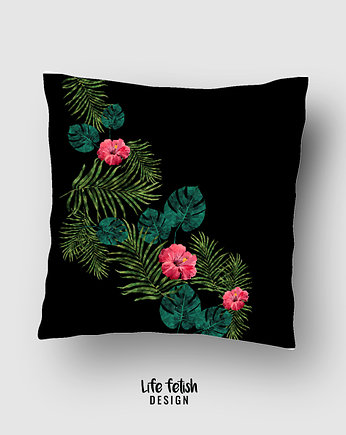 Life fetish, Poszewka tropical design black