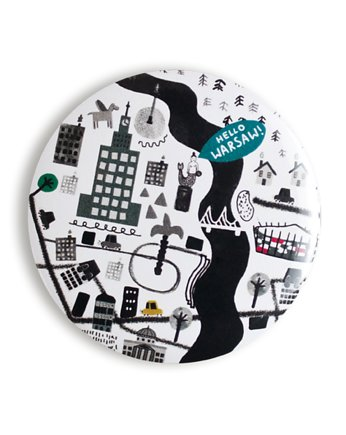 LOVE POLAND DESIGN, MAGNES 56 mm - Mapa!