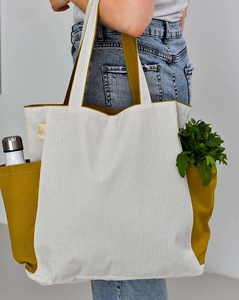 Shopper bag Monro Curry - rozmiar M