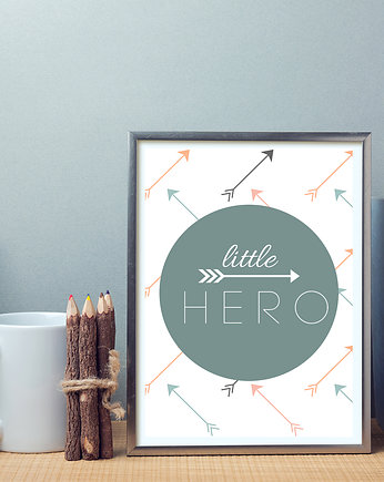 little, plakat little hero