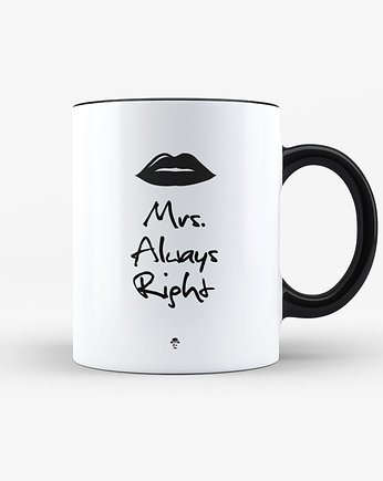 mug, Kubek Mrs. Always Right - 330ml