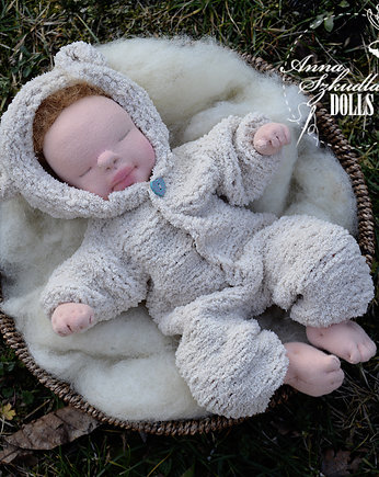 Anna Szkudlarska unique dolls, baby4baby - it's a boy