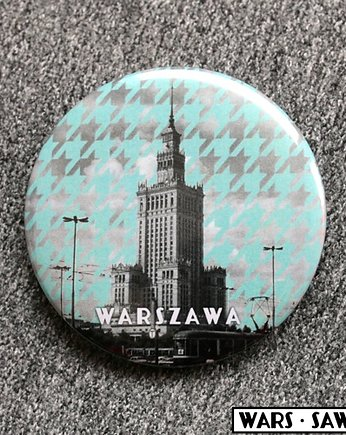 LOVE POLAND DESIGN, MAGNES  56 mm - Pałac w pepitkę!
