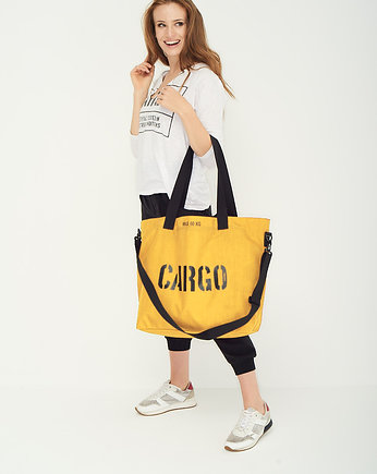 casual, Torba CARGO by OWEE sunflower yellow LARGE