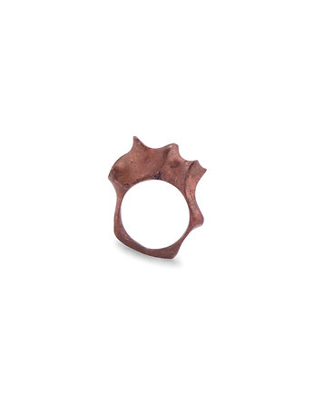 WAVES maxi / COPPER ring, ONA