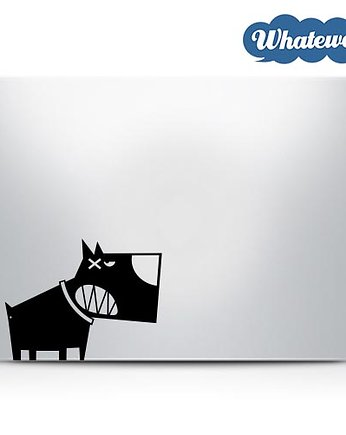 Whatewa, Naklejka na laptop Pies Dog Decal sticker