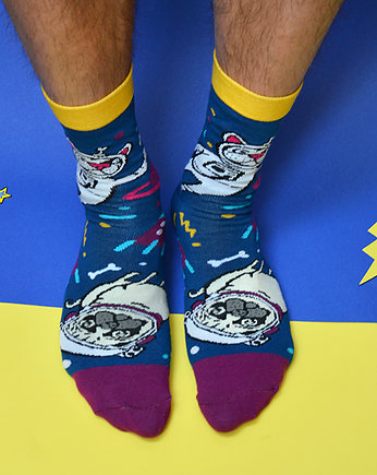 mops, Frenchie & Pug Cosmic Socks!