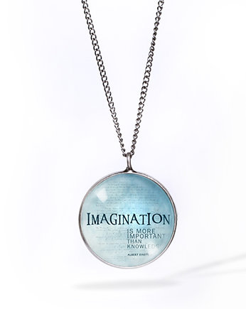Imagination Blue - naszyjnik simple