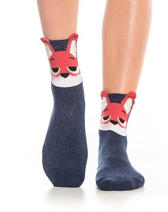 Skarpetki z lisem - Monday Socks
