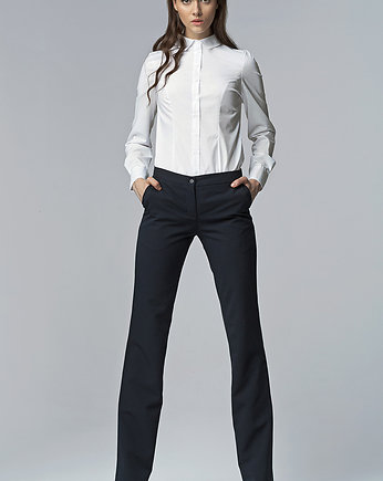 496936e3 Spodnie bootcut sd29 - szary - Moda - spodnie - inne - Pakamera.pl
