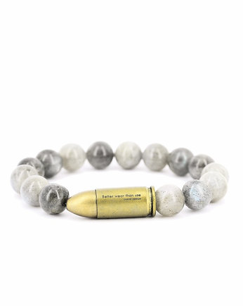 Better Wear Than Use- Labradorite Bracelet