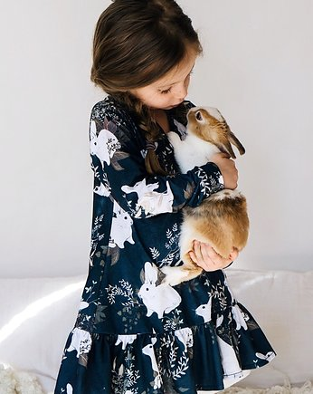 Sukienka Rabbit navy