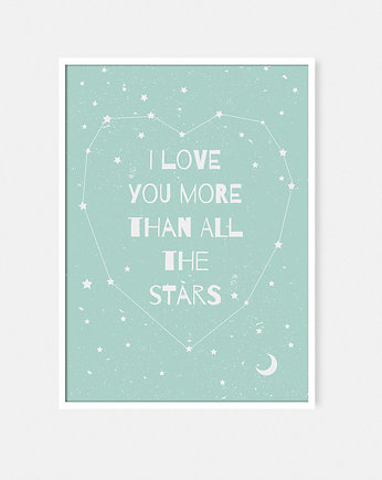 More than all the stars PLAKAT