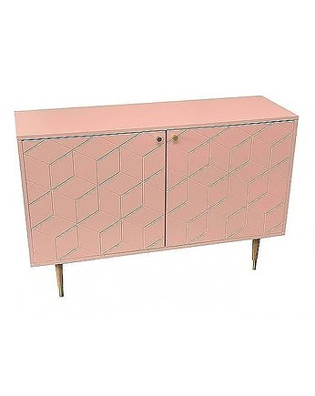 MIA home passion, Komoda MDF Powder Rose